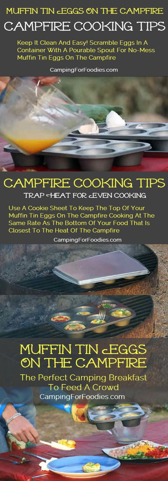 Tin Eggs Campfire
