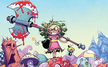 Goodreads | I Hate Fairyland, Vol. 1: Madly Ever After by Skottie Young —…