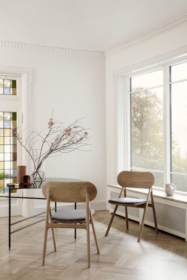 Skandinavisches Design Von Brdr. Krüger: OEO Studio Entwarf Für Das Dänische  Familienunternehmen Den Holzstuhl U201eTheodoru201c. (Foto: Brdr. Krüger)