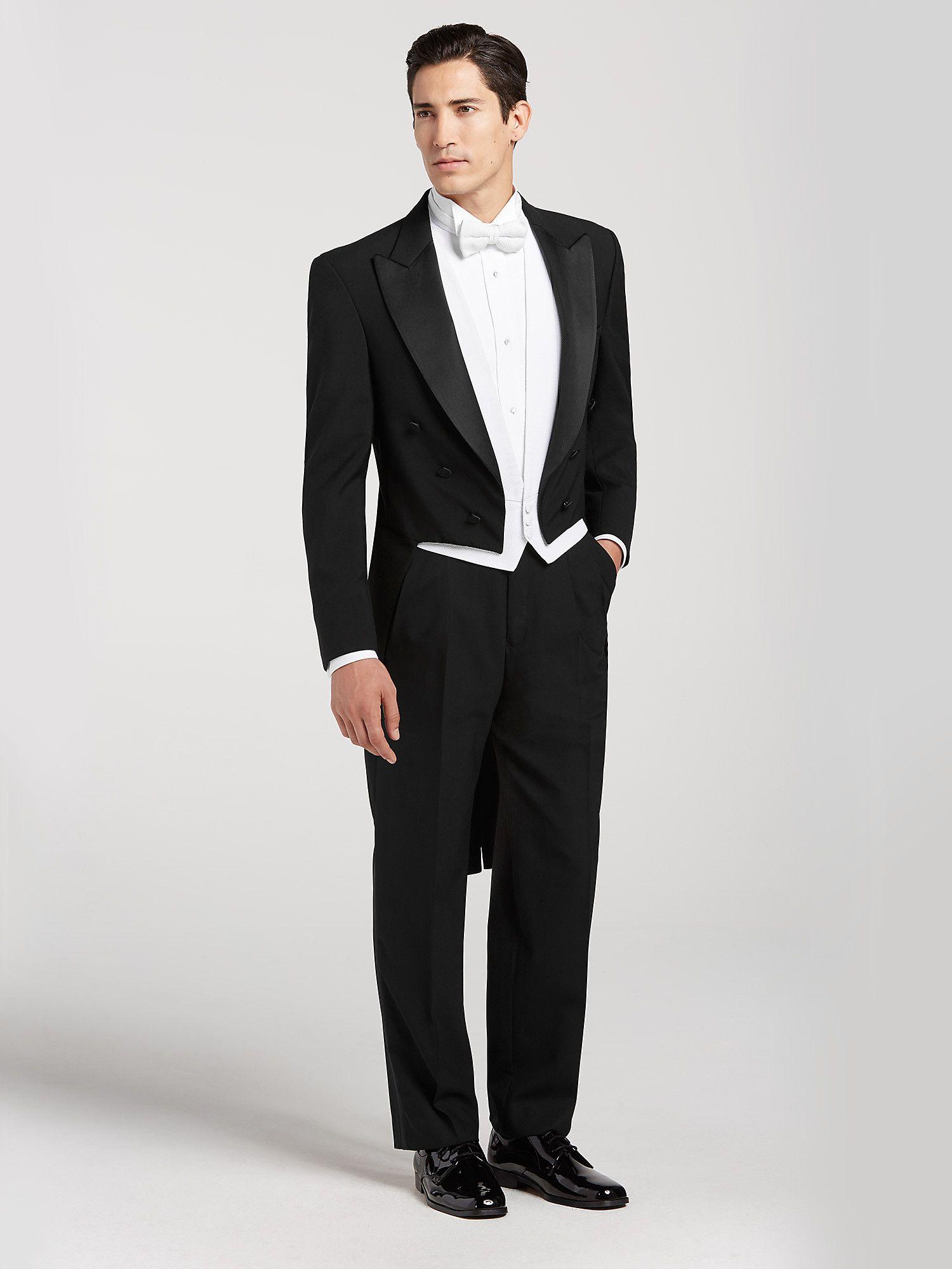 Joseph & Feiss Black Full Dress Tailcoat Tux in 2020