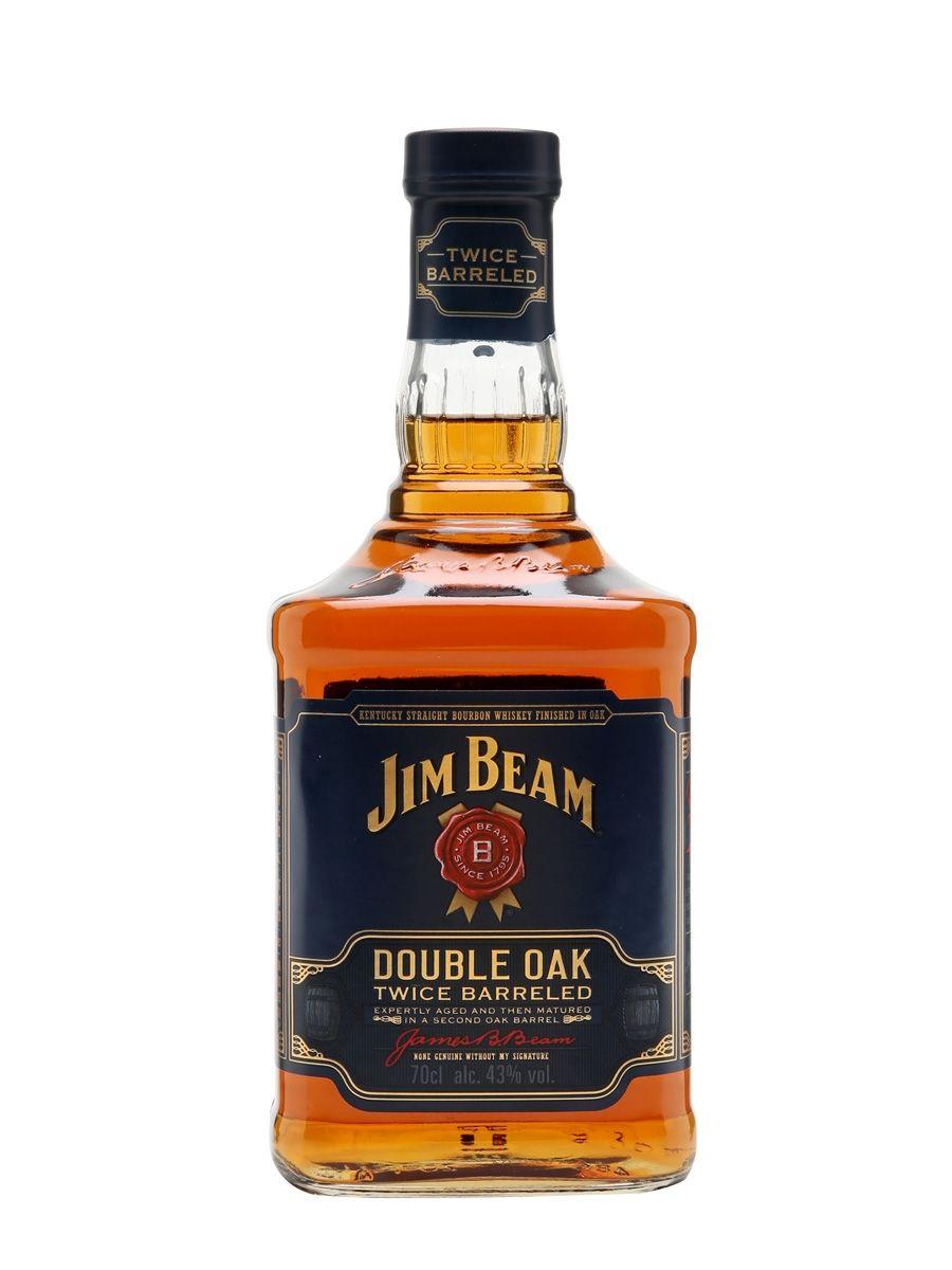 Jim Beam Double Oak Jim Beam Bourbon Whiskey Brands Whiskey Brands