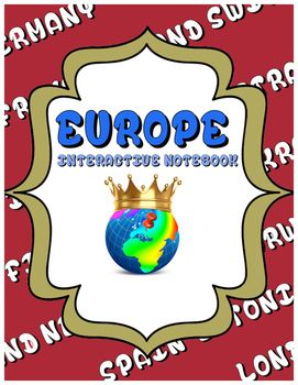 Europe Interactive Notebook for Middle School Students Using QR Codes. Technology Classroom. Geography. European History. Social Studies.