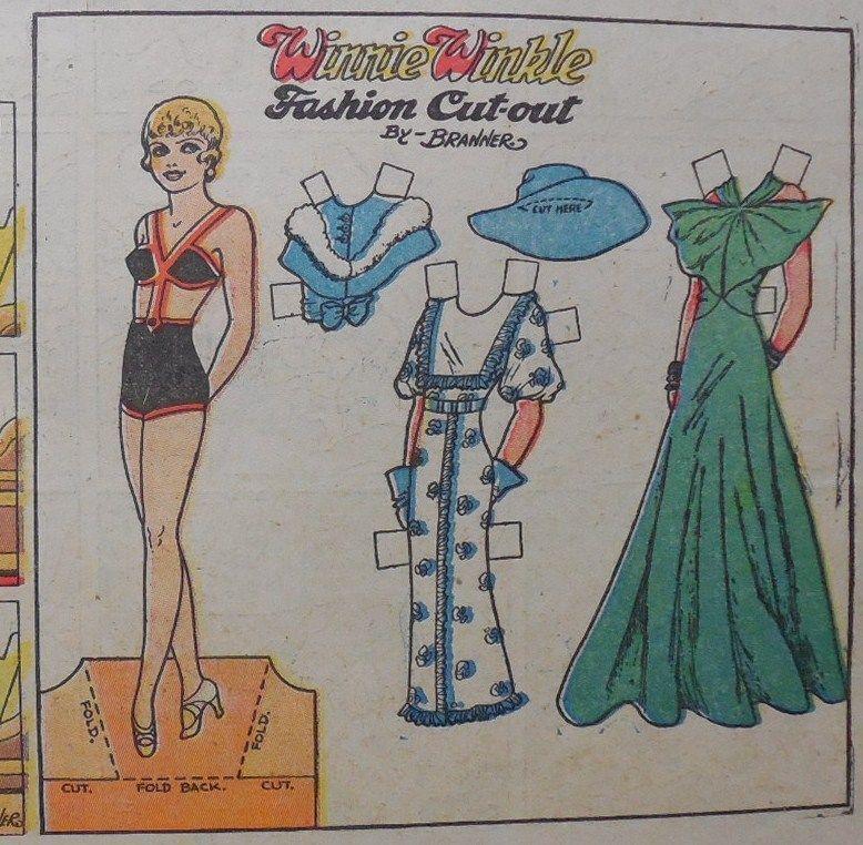 US $10.00 New in Dolls & Bears, Paper Dolls, Vintage