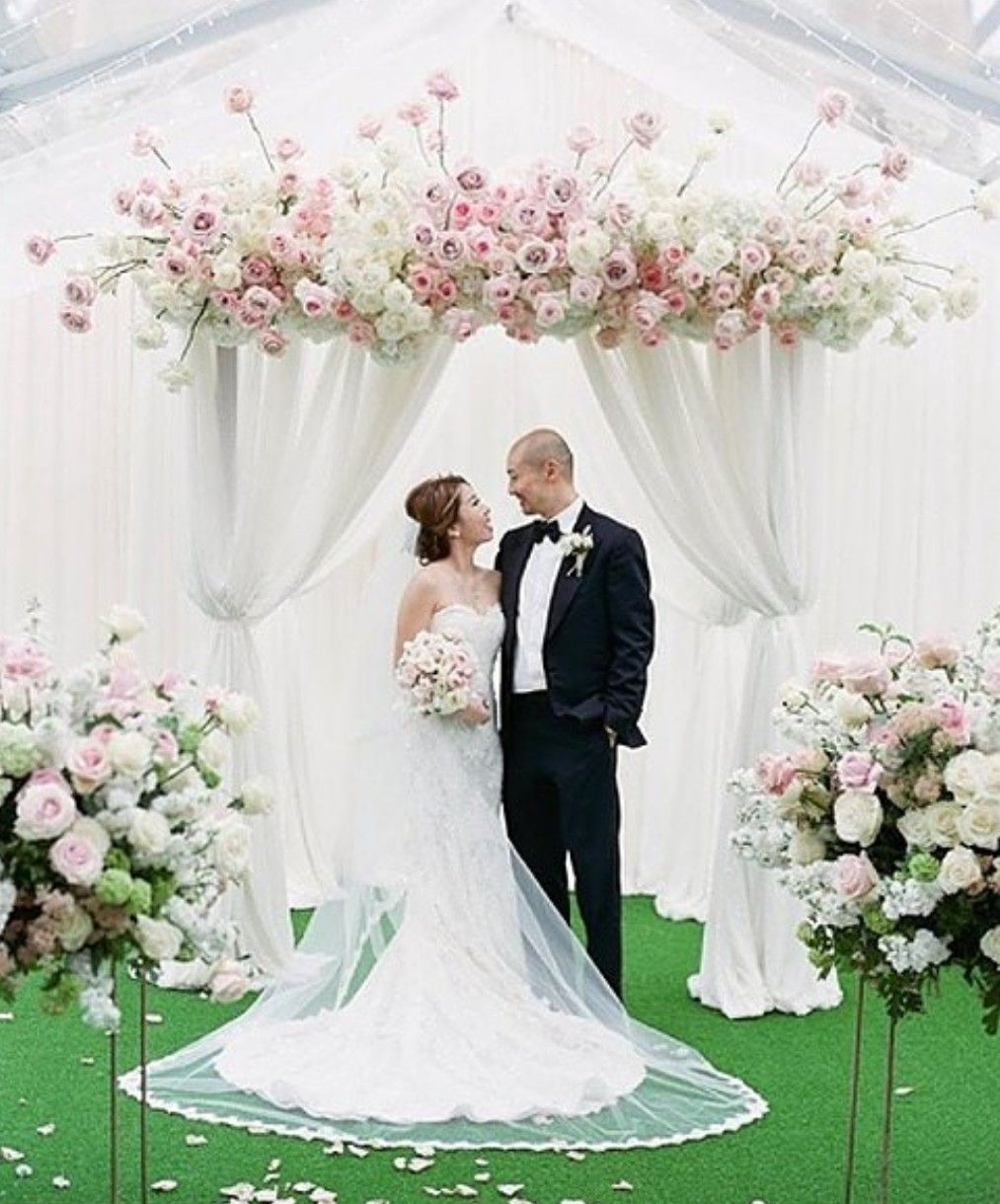 The Edgewater Reviews Ratings Wedding Ceremony: Pin By Florists' Review On Ceremony Backdrop
