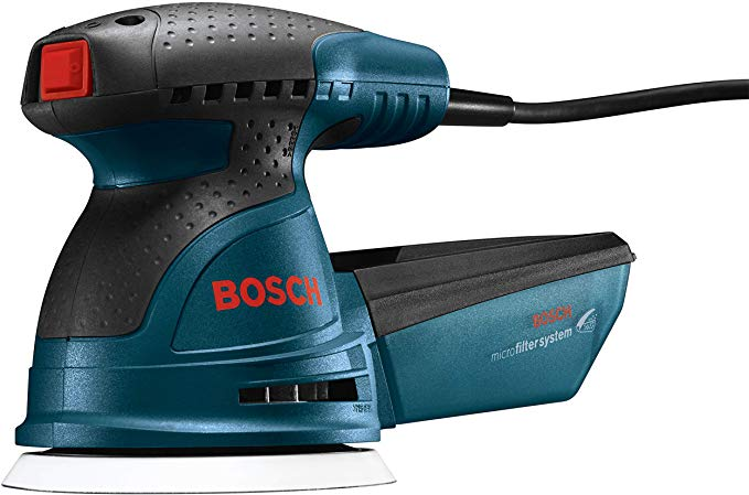 Bosch Ros20vsc Palm Sander 2 5 Amp 5 In Corded Variable Speed Random Orbital Sander Polisher Kit With Dust Coll In 2020 Dust Collector Crafty Hobbies Best Table Saw