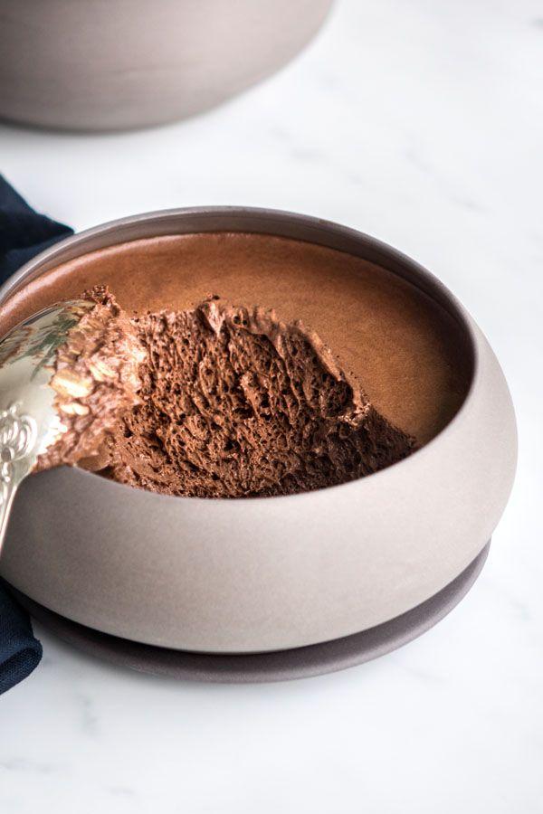 Photo of Mousse au chocolat – Empreinte Sucrée
