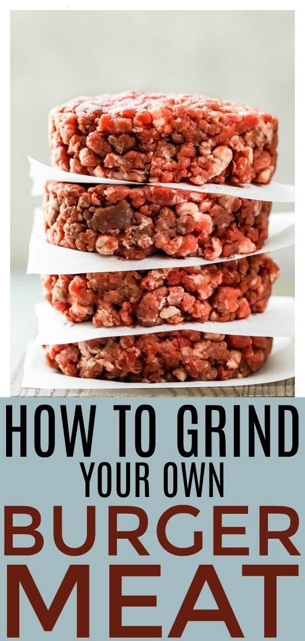 how to grind your own burger meat Making your own burger blend at home is incredibly simple and will take your hamburgers to the next level Easy tips and tricks inc...