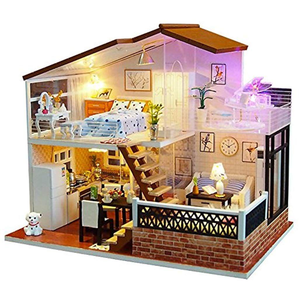 Kit Fai Da Te Casa Delle Bambole In Legno Casa Delle Bambole