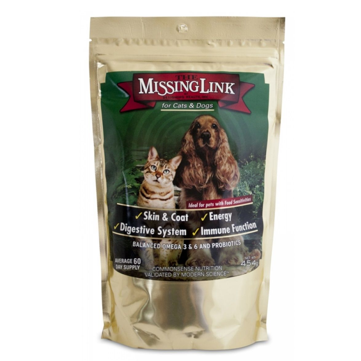 The Missing Link Original Blend For Dogs Cats 454g Superfood Supplements Digestive Function Biodegradable Products