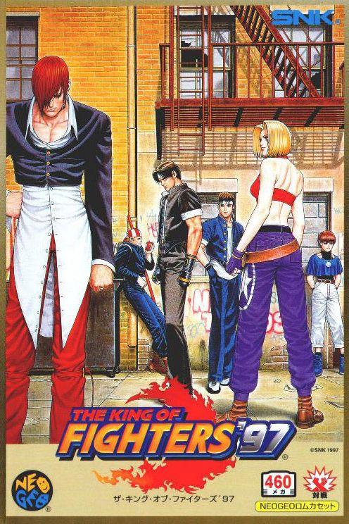 King Of Fighters 97 Neo Geo Ntsc J Jogos Antigos Lutador De