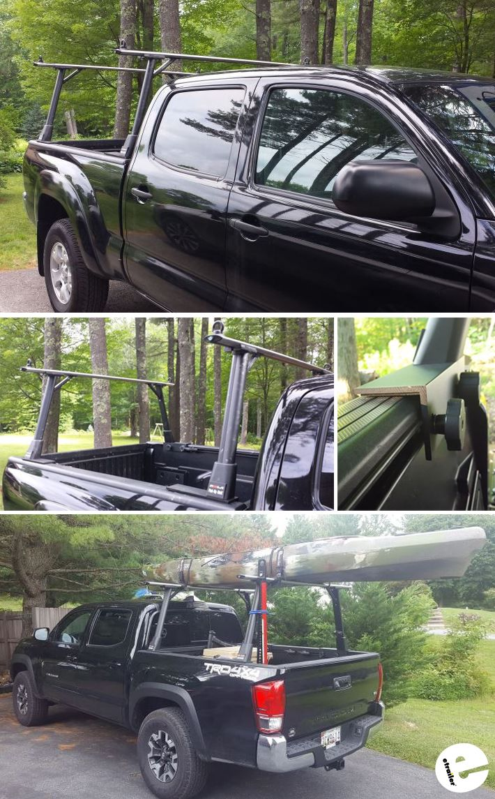 Nutzo Tech 1 series Expedition truck bed rack. Fully