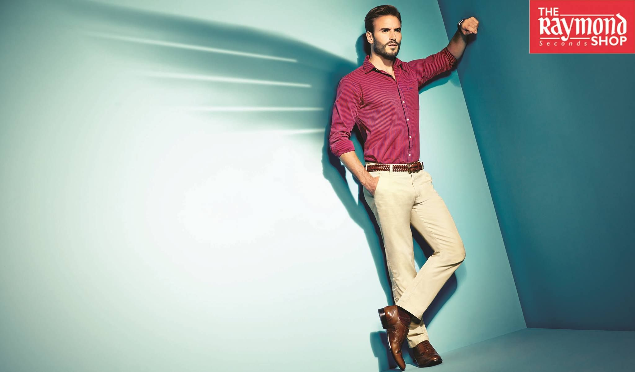 White shirt khaki pant combination