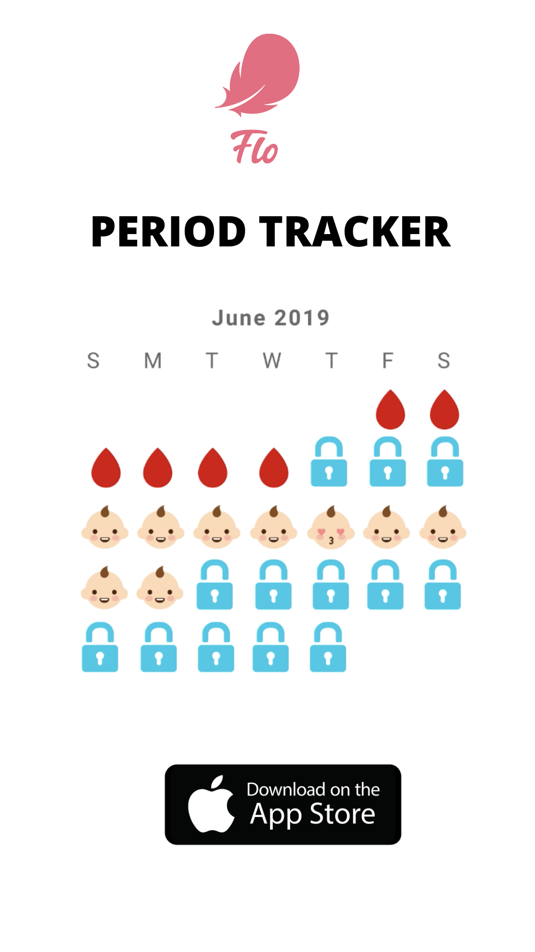 Pin on Flo Period & Ovulation Tracker