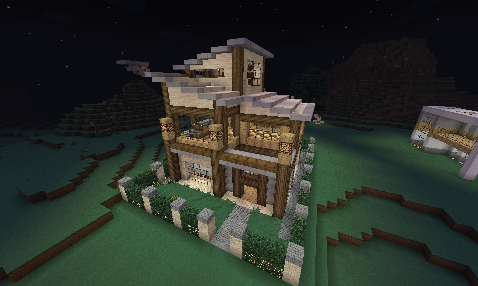 Modern Minecraft House! Nice! If you need a texture/resource