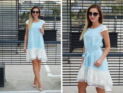Efektowna Sukienka Zdobiona Koronka Mary 36 S 6140281950 Oficjalne Archiwum Allegro Summer Dresses Dresses Fashion