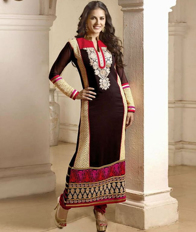 751fe67d4c Anarkali suits are one of favorite fashion wear by Indian women and here  you are going to see Bollywood Actress Sunny Leone in Anarkali Suits Photos.