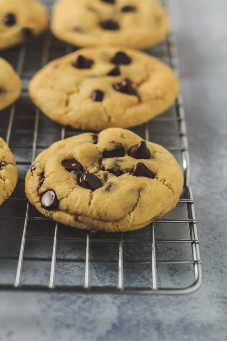 Condensed Milk Chocolate Chip Cookies Incredibly Thick Soft And Chewy Cookies That Are Made With Sweetened Condensed Milk And St Milk Chocolate Chip Cookies