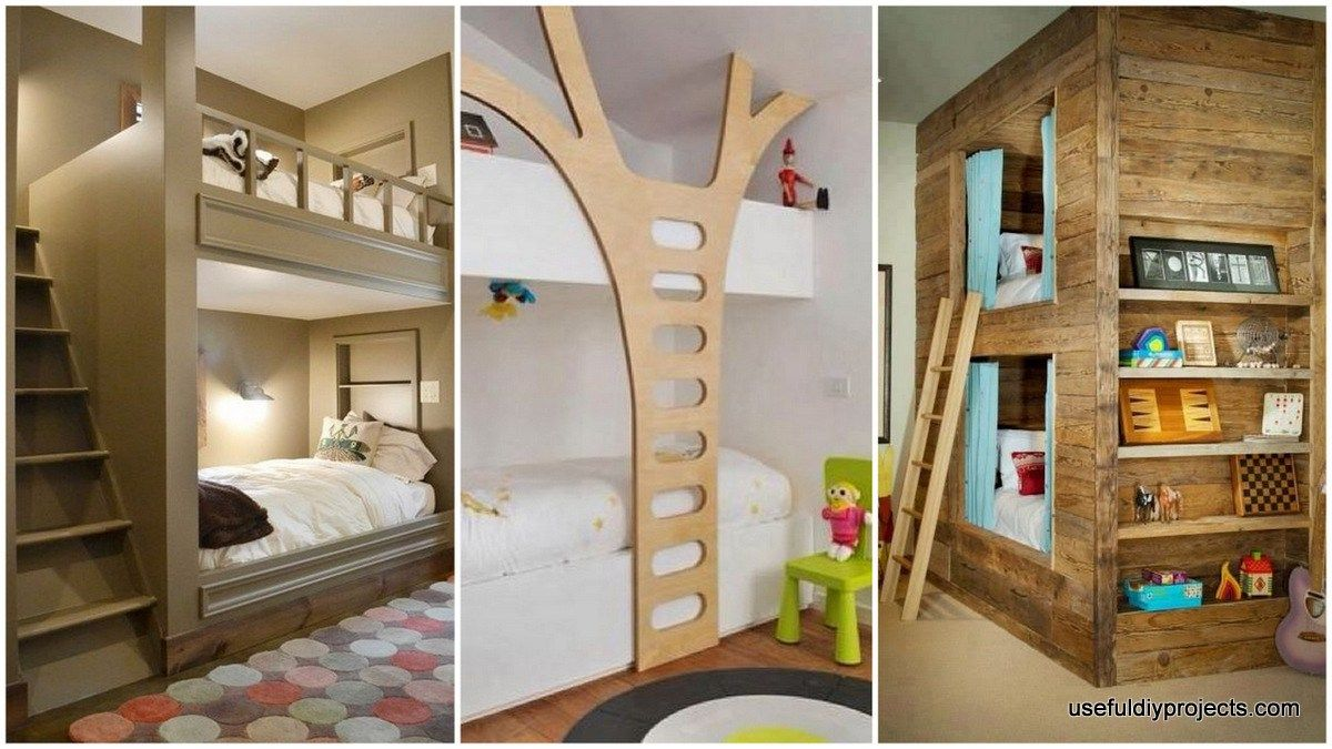 Double Deck Bed Design Make the Most of Your Bedroom  Double deck