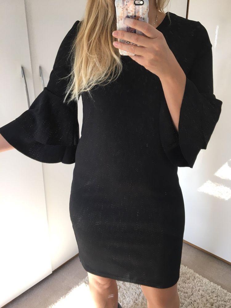 1fa0f55f Vero Moda black Flared Ruffle Sleeve Dress 12 #fashion #clothing #shoes # accessories #womensclothing #dresses (ebay link)