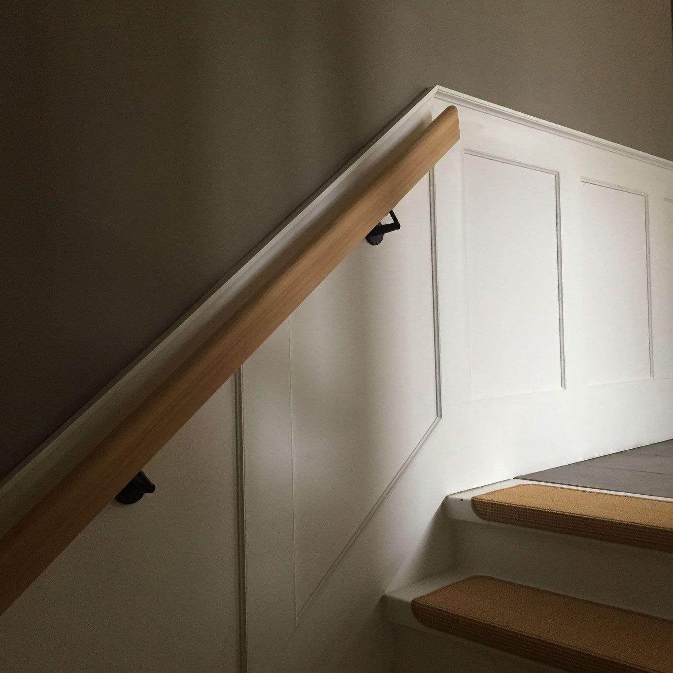 Treppenhaus Renovieren Ideen Schön Treppen Renovieren: Wandvertaefelung_selber_machen_treppenhaus_fertig