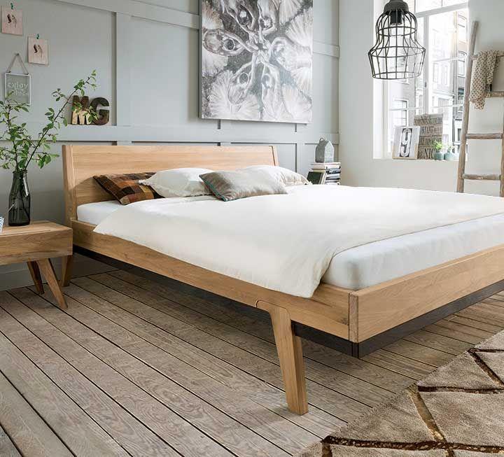 Massivholzbett Arisa In 2020 Massivholzbett Bett Und