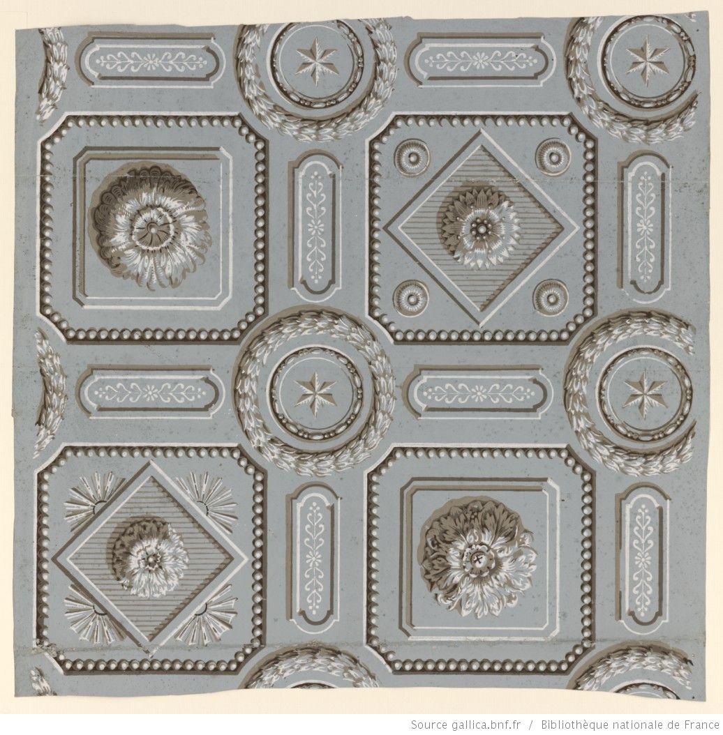 Papier Peint Plafond Trompe L Oeil manufacture bon. papier à motif répétitif. motif répétitif de trompe