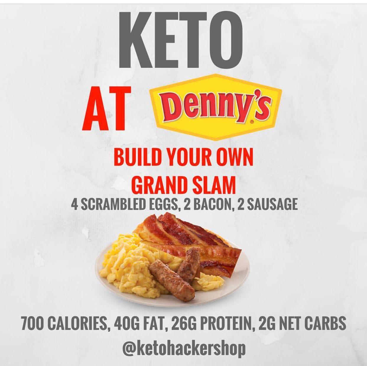 Keto Breakfast Idea Denny\'s | Keto in 2018 | Pinterest | Keto, Diet ...