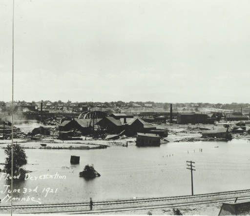 A Part Of The Flood Devestation Sic In Pueblo Colo June 3 1921 Western History Pueblo Colorado Pueblo Beautiful Mountains