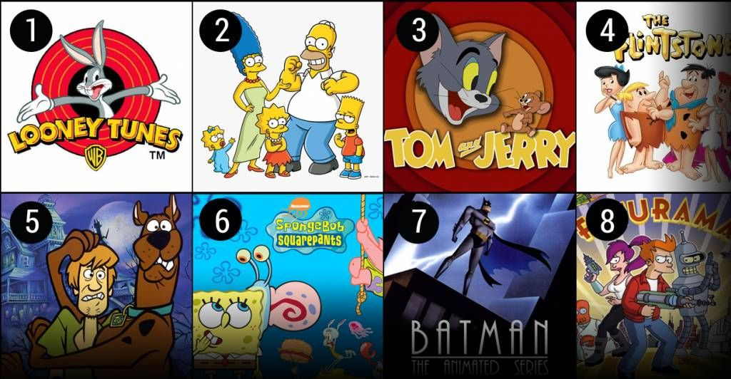 """There have been many fantastic animated TV shows throughout the history, but which ones are the best? Some people think that cartoons are just for children, but there are many that have frequent themes that even adults will enjoy. From classic animated series like """"Looney Tunes,"""" """"The Flintstones,"""" and """"The Jetsons"""" to the modern day hits of """"The Simpsons"""" and """"South Park,"""" there are many great cartoons available."""