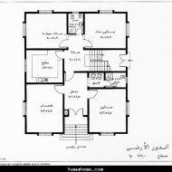 صور مخطط منزل Model House Plan House Floor Design Classic House Design