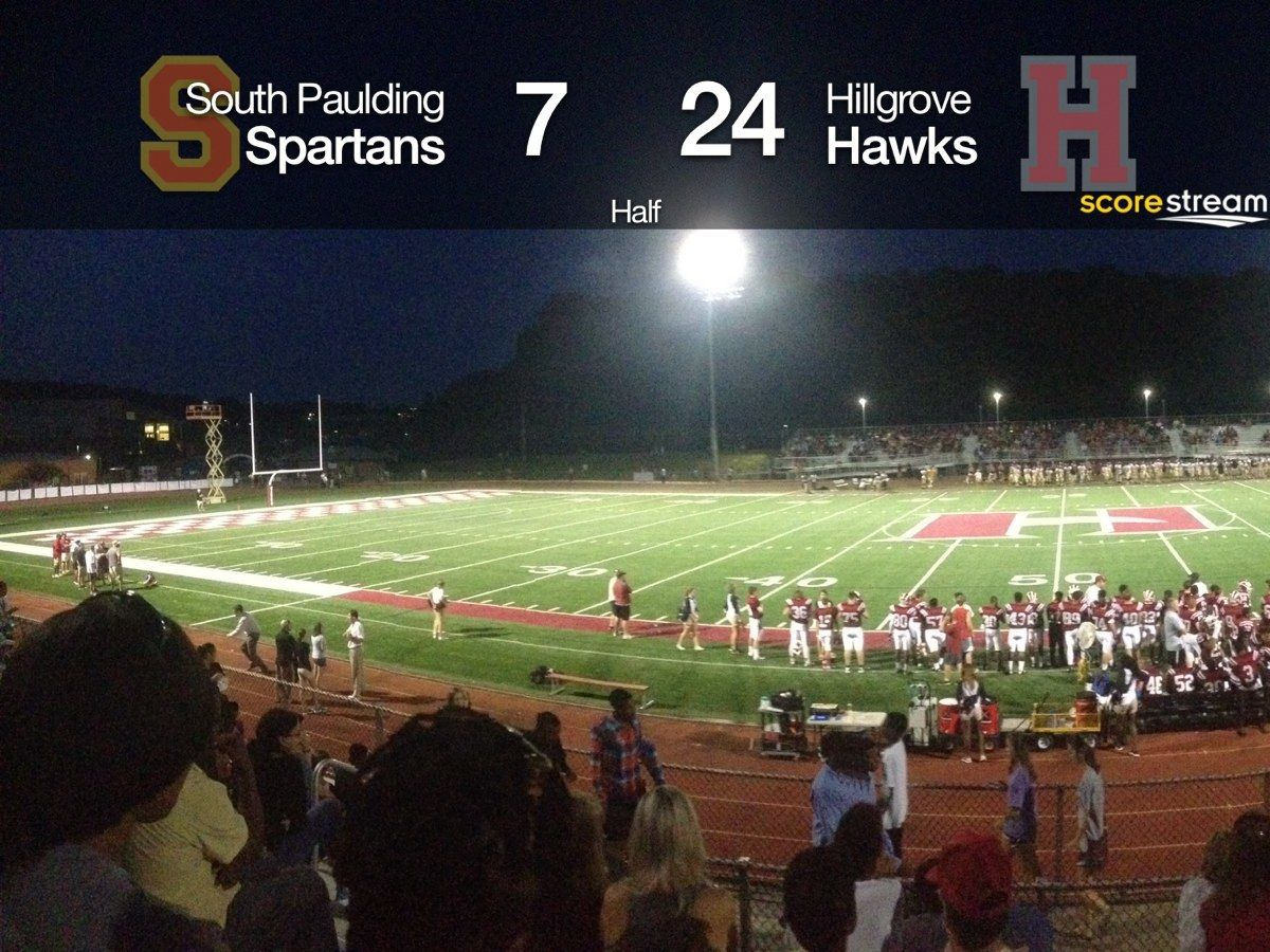 Awesome Picture taken at halftime with the ScoreStream
