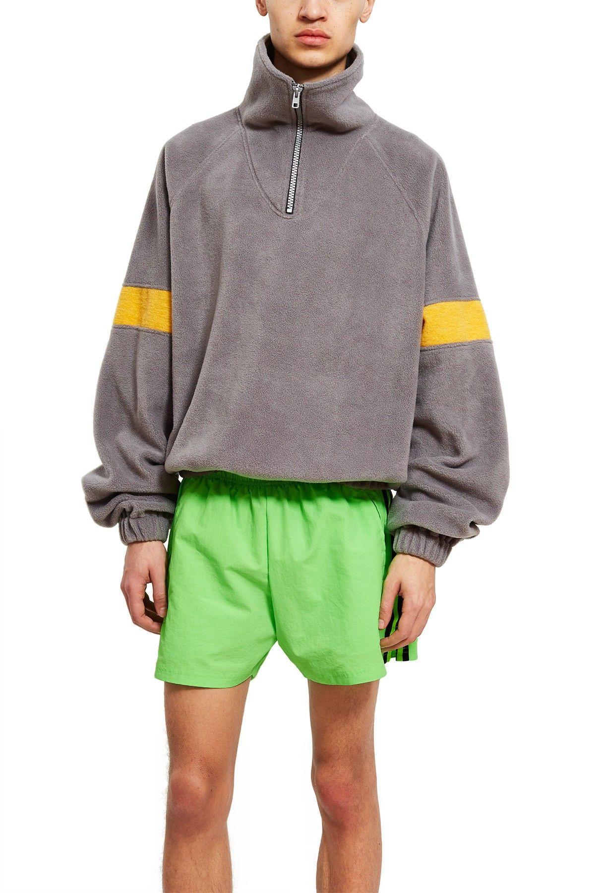gosha rubchinskiy adidas fleece yellow