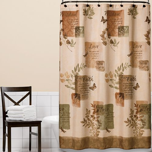 Bath Accessories At Kohlu0027s   Shop Our Entire Selection Of Bath Coordinates,  Including This Natureu0027s Inspiration Fabric Shower Curtain, At Kohlu0027s.