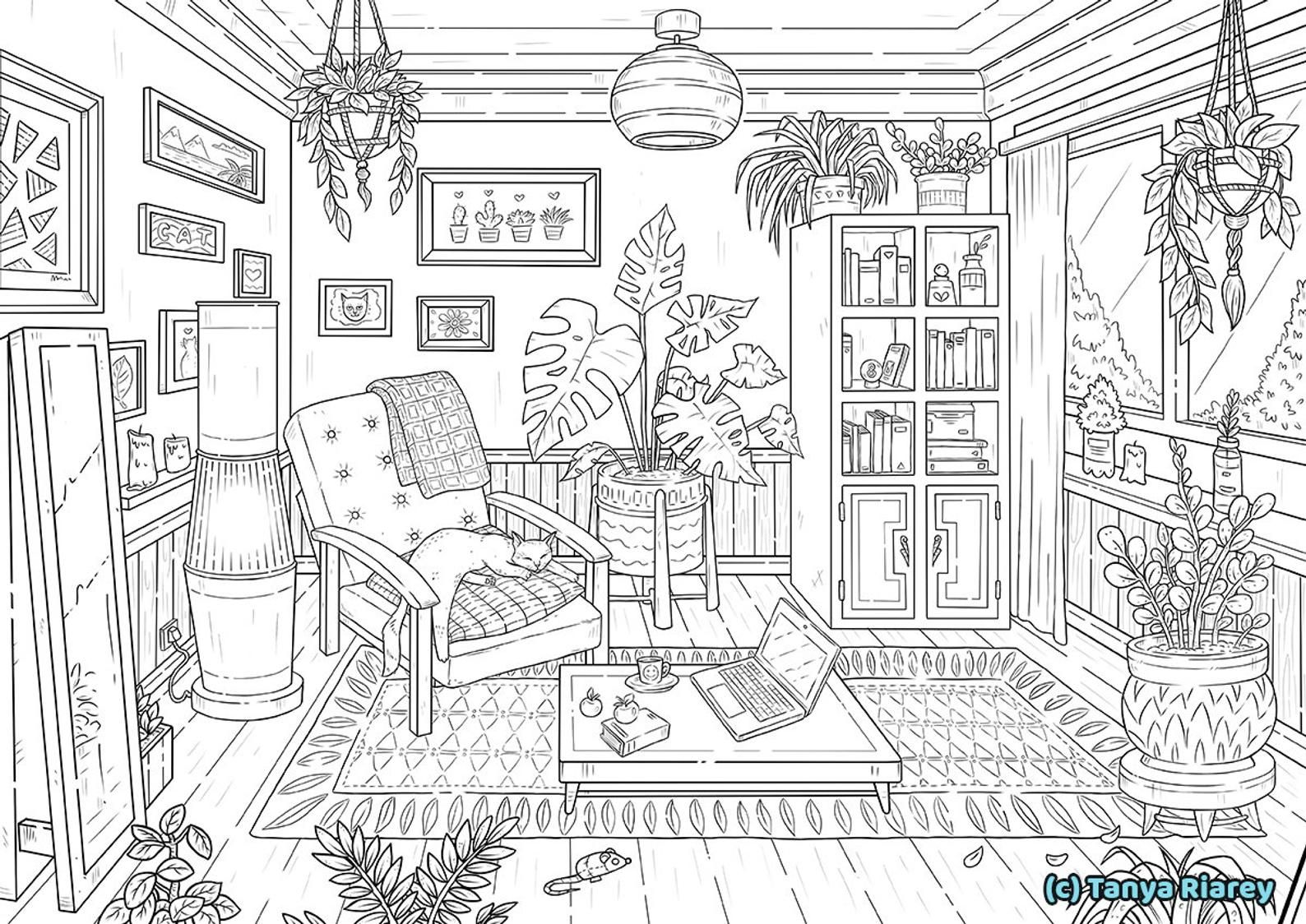 33+ Detailed coloring pages ideas