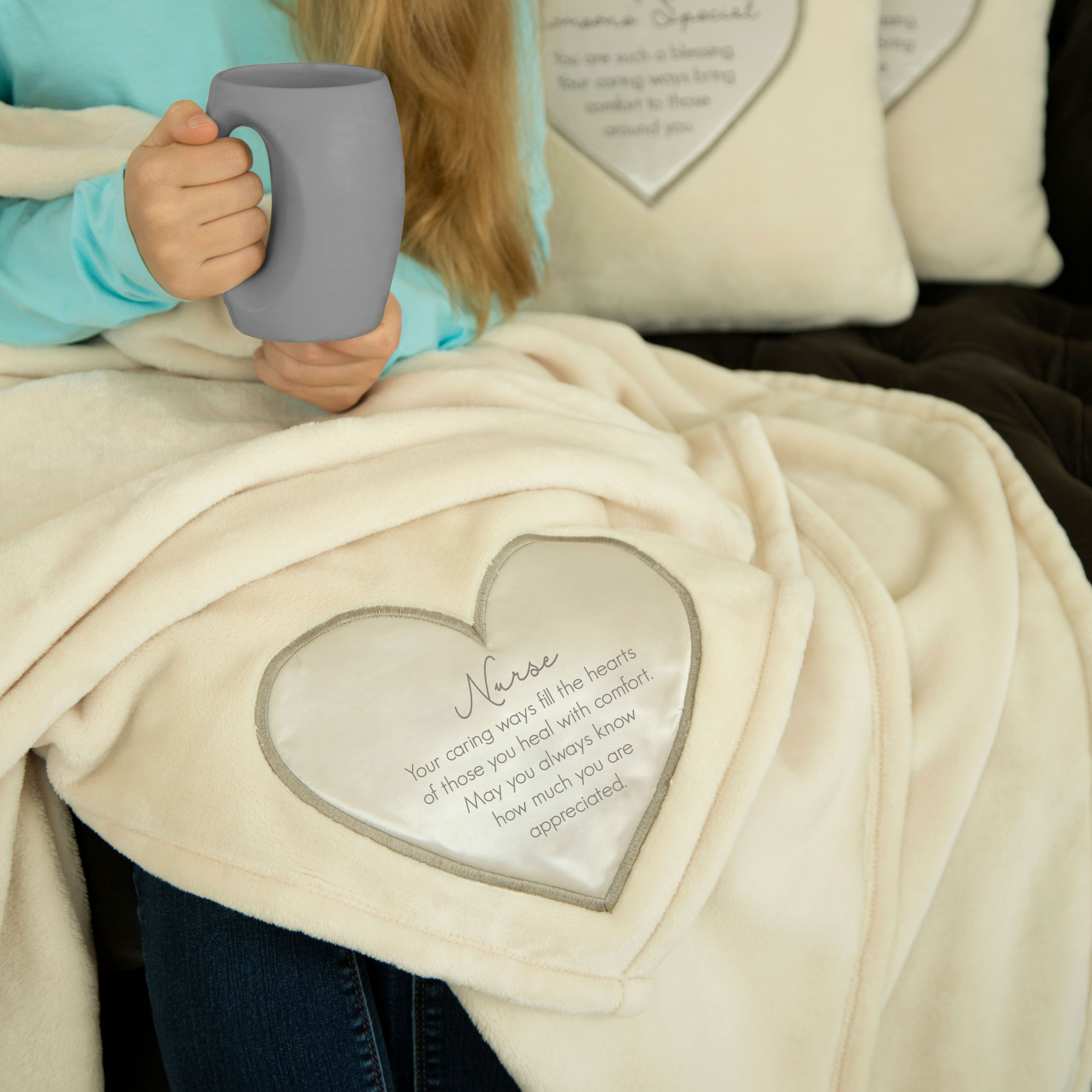 Pavilion Gift Company Granddaughter Royal Plush Blanket May You Always Find Comfort Knowing You are Very Special and Loved So Very Much