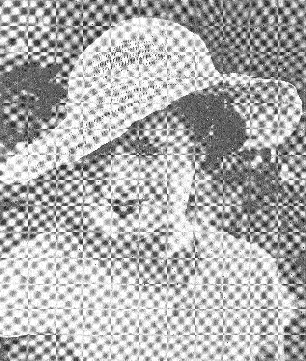 Vintage 1930s Hat Pattern Art Deco Crochet Garden Party Floppy ...
