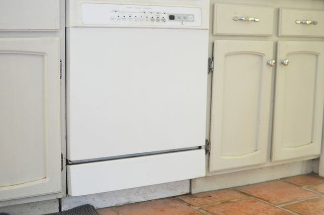 Older homes did not come standard with a dishwasher ...