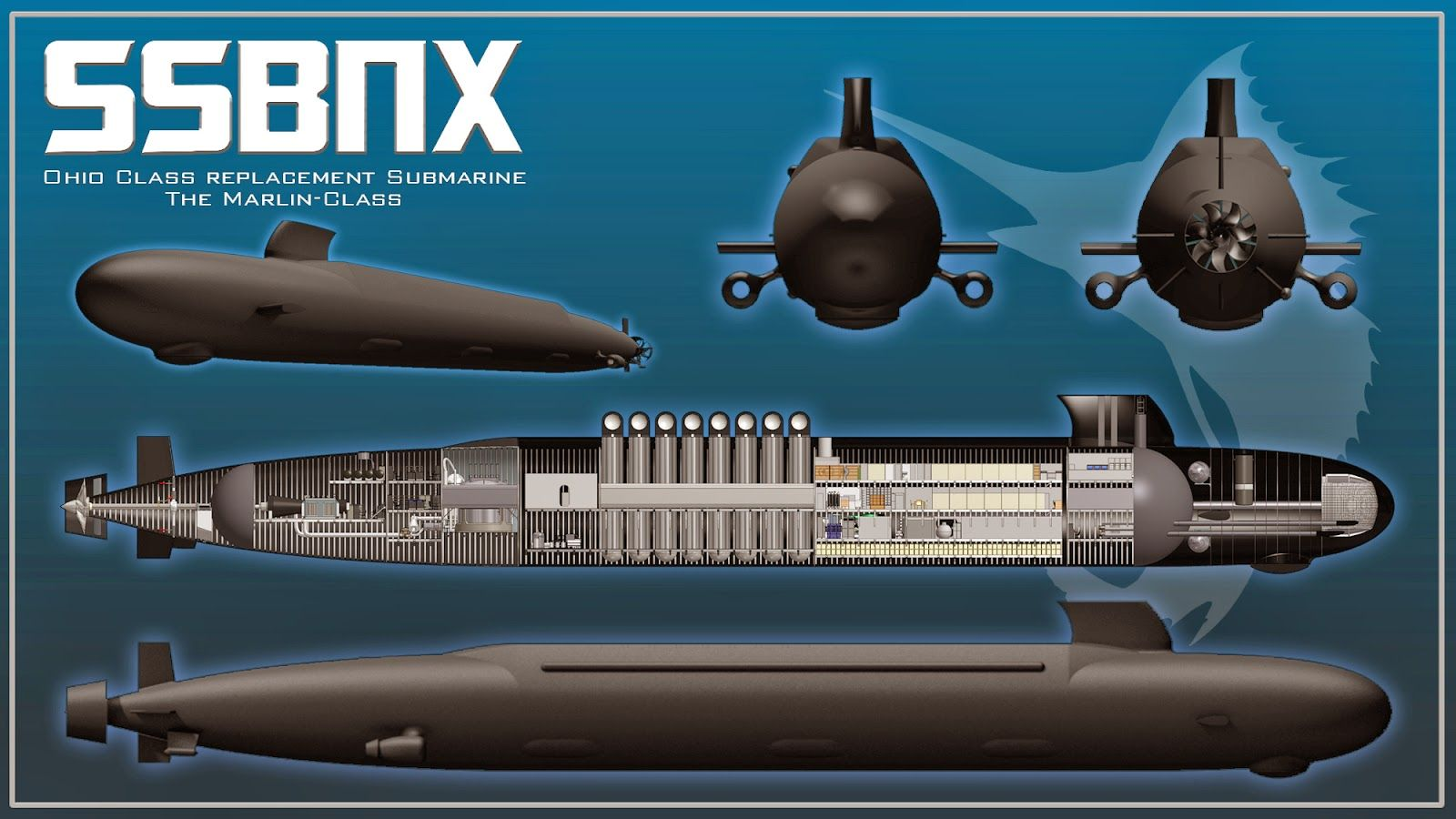 next big future: us funds ohio replacement submarine and