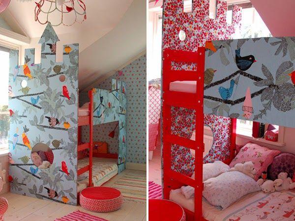 loulou gatou 15 fa ons de customiser votre lit kura de ikea chambre enfant pinterest kura. Black Bedroom Furniture Sets. Home Design Ideas