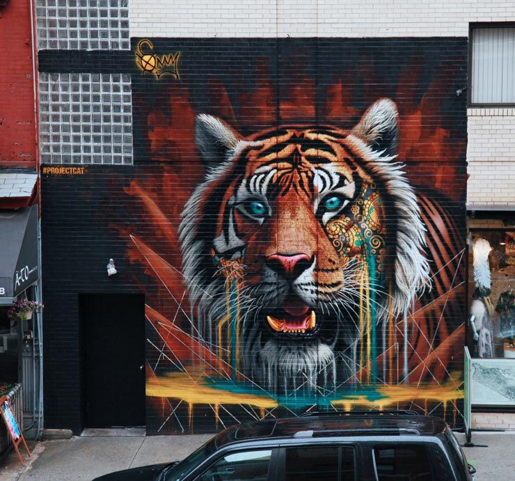 Street Art By Sonny Sundancer In Little Italy Nyc