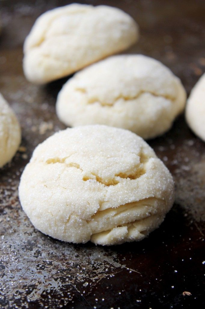 Lemon Pillow Cookies Recipelight with crispy outside