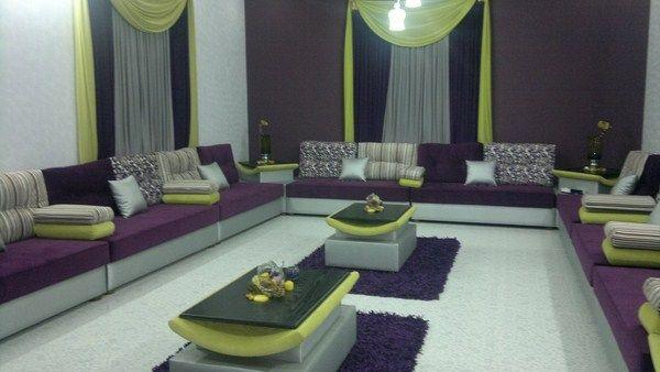 تصميمات مجالس كنب متصل واسعة Types Of Sofas Moroccan Room Decor