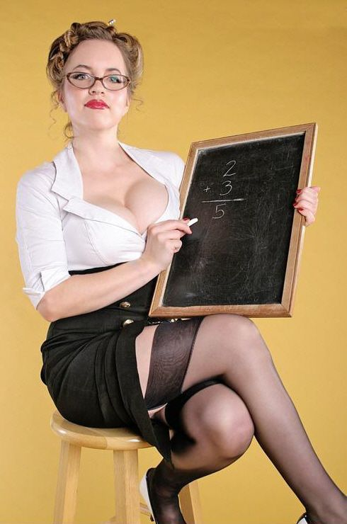 Sexy school teacher clevage shots images 127