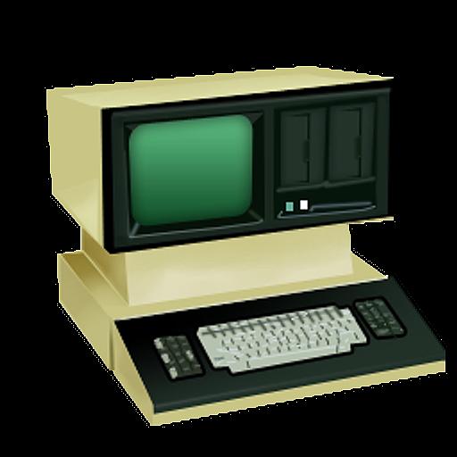 Old School Computer Png 512 512 Pixels Computers Technology Old Computers Old Technology Computer Diy