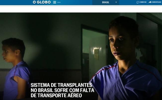 Trasplantes que no llegan; premian reportaje de O Globo - El Universal