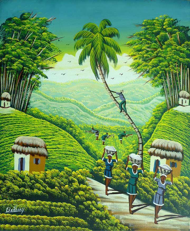 Haitian Art, Art of Haiti, Wall Art, Naive Art, Haitian ...