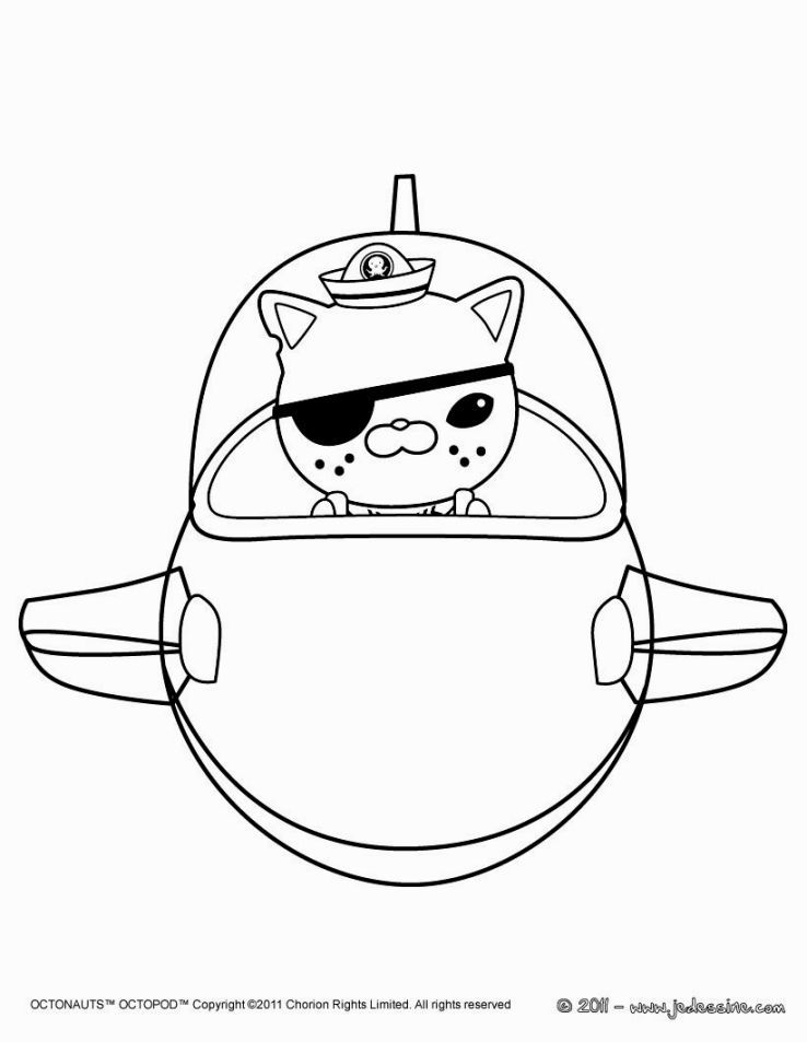 Octonauts Gup X Coloring Pages | Homeschooling | Pinterest | Colores