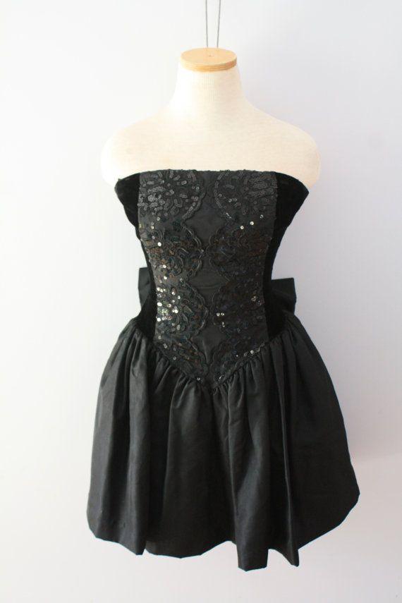 432bc3b6acd Vintage 80 s Prom Dress Short Gunne Sax by Jessica McClintock by  FriendsonSunday on Etsy