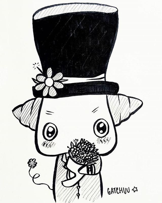 "(Art By: GATCHUU) ""Please accept this as a token of my love."" 💕  #cute #illustration #art #inspiration #adorable #ink #pen #illustrations #cartoon #anime #moe #sketch #doodles #doodling #pencil #doodling #sketchbook #gatchuu #art #cute #haveaniceday #love #flowers #romantic #illustration #artoftheday #artistsofinstagram #illustrator #sketch #sketchbook #sketching #doodling #doodle #draw #drawing #artist #rakugaki #ink #inktober #pen #pencil #tophat #creature #gatchuu"