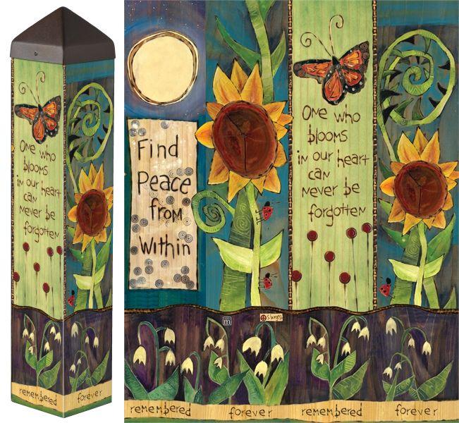 title>Songbird | Peace & Garden Poles | Pinterest | Garden art